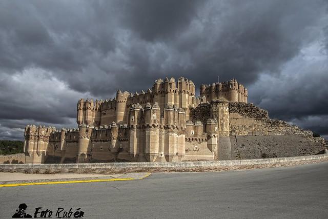 Castillo de Coca (Segovia)- Coca castle (Segovia Spain)