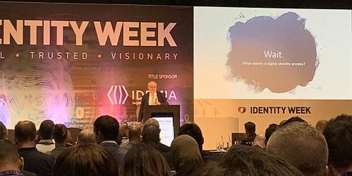 Identity Week Keynote