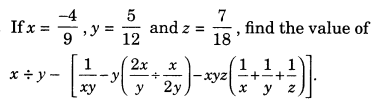 Rational Numbers Class 7 Extra Questions Maths Chapter 9 Q18