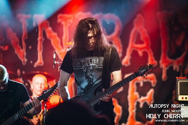 Cannibal Corpse, Sacramental Blood, Autopsy Night @ Novosadski sajam, 11.6.2019.