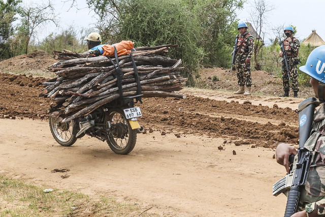 UN maintained main supply routes in South Sudan