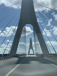 Crossing The Bridge - Arade River Bridge - Portimão, Portugal