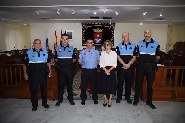 Oficial de Policía Local de Arrecife y Subinspector