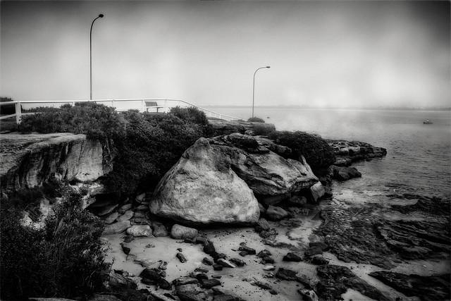 Lifting Fog over Botany Bay