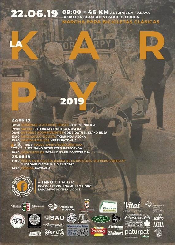 La Karpy 2019: Marcha para bicicletas clásicas