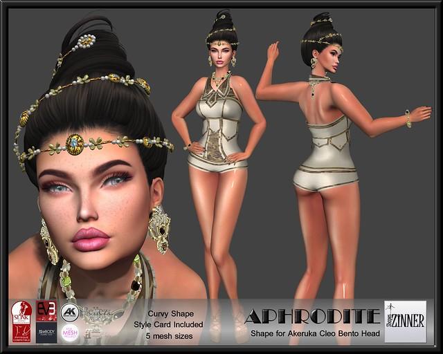 Zinner Shapes - Aphrodite Bento Shape