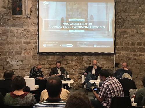 Trobada sectorial: Innovació i futur a l'abast del patrimoni històric