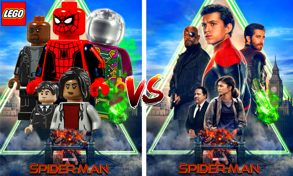 All Lego Marvel Spider Man Far From Home Minifigures !!! L… | Flickr