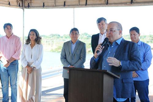 Governador libera acesso a Ponte do Bragueto e visita viaduto de Taguatinga