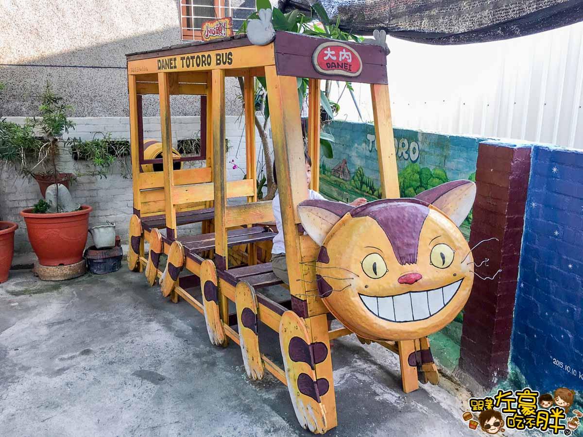 台南旅遊大內龍貓公車站-37