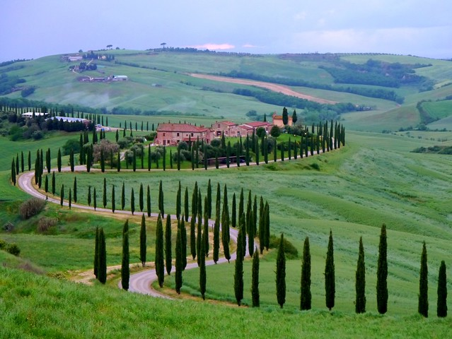 Die Straßen der Toskana / The roads of Tuscany