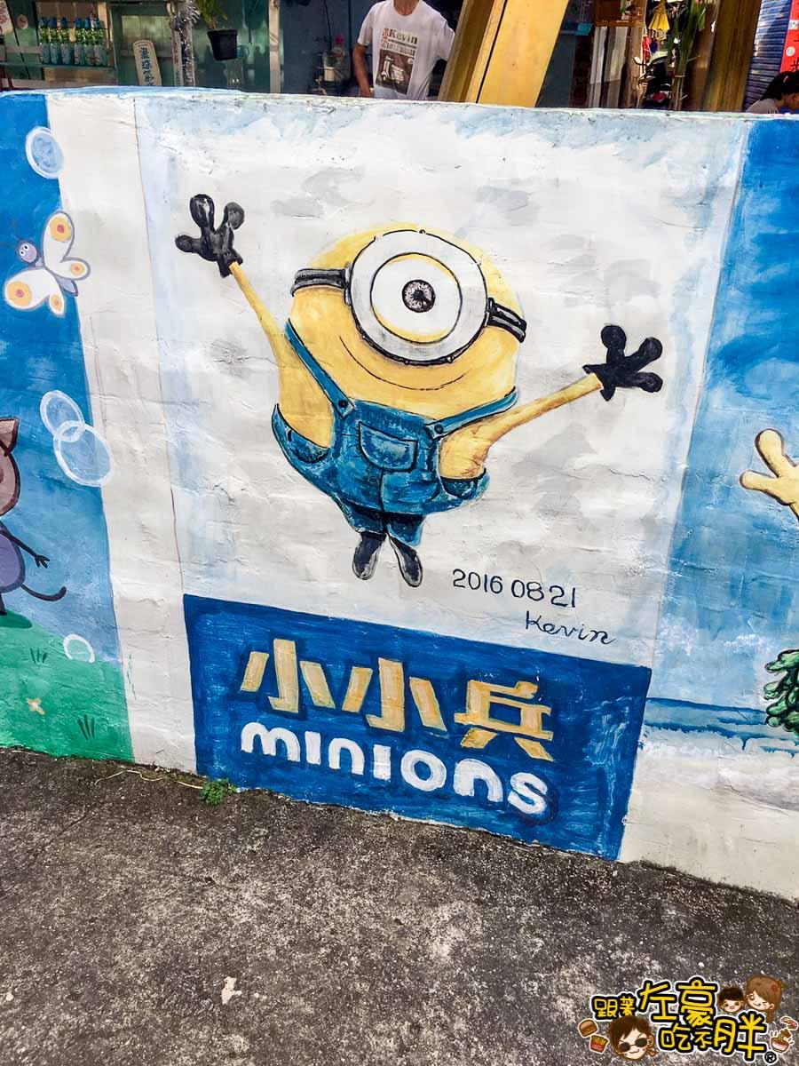 台南旅遊大內龍貓公車站-33