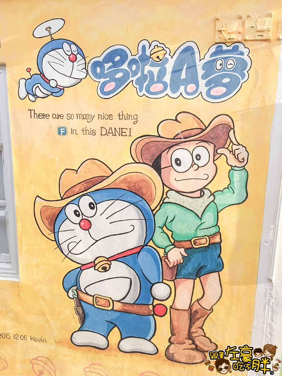台南旅遊大內龍貓公車站-46