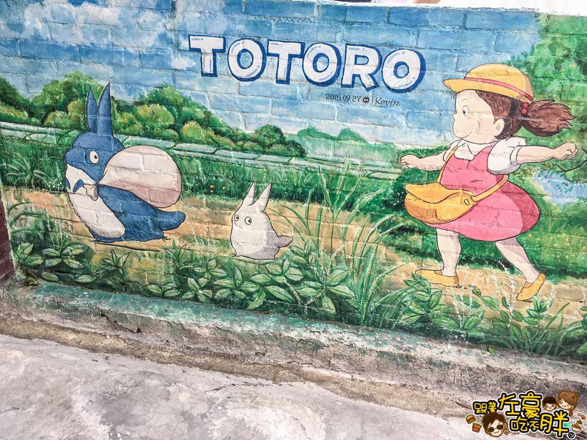 台南旅遊大內龍貓公車站-36