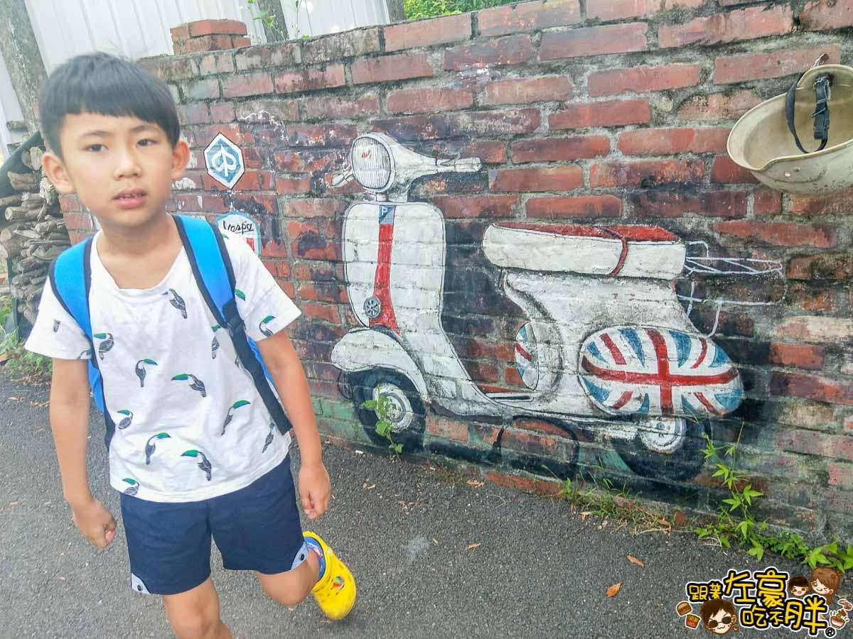 台南旅遊大內龍貓公車站-2
