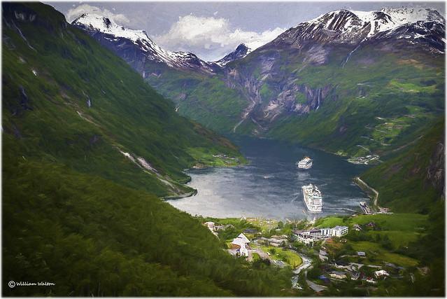 Geirangerfjord(Norway)