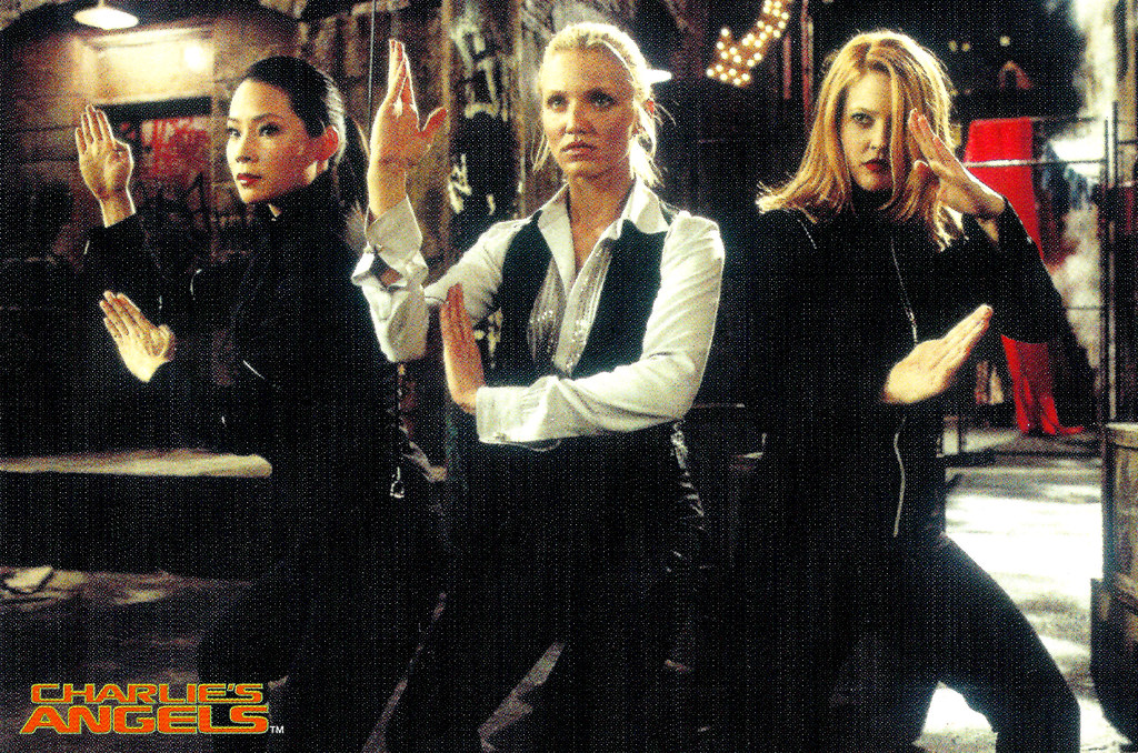 Lucy Liu Cameron Diaz And Drew Barrymore In Charlie S Angels 2000 A Photo On Flickriver