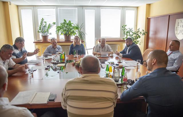 Krízový štáb bratislavskej župy zjednotil postup boja proti komárom
