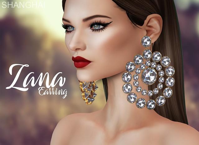 - shanghai - Zana Earring - Designer Showcase!!
