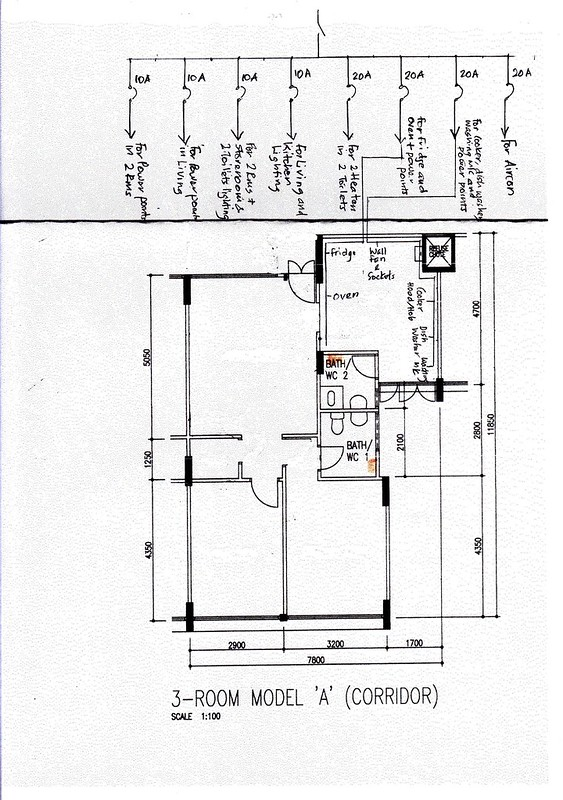 Electrical Distribution Plan