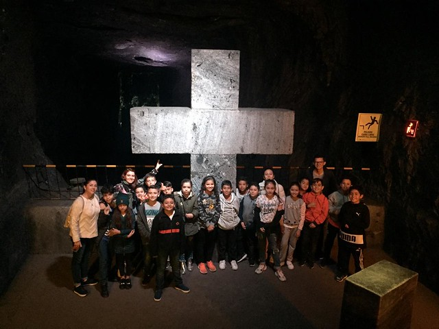 Estudiantes durante Expedición Bogotá - Boyacá 1