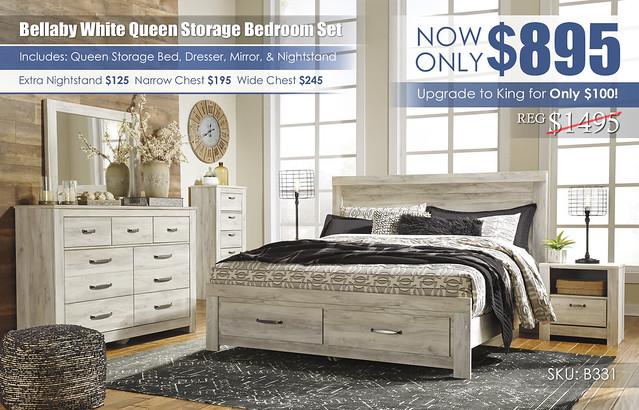 Bellaby Storage Bedroom Set_B331-31-36-11-58-56S-95-91-Q323
