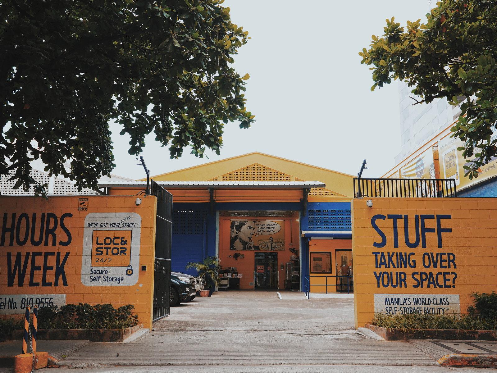Loc&Stor 24/7: Storage Facility iin the Philippines.