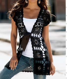 cardigan crochet free