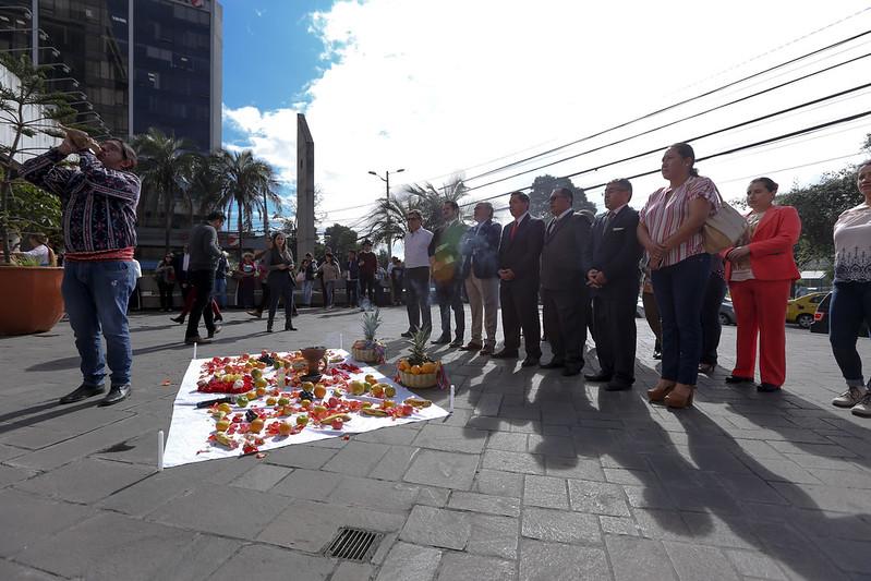 Invitación a la celebración de la fiesta del Inti Raymi