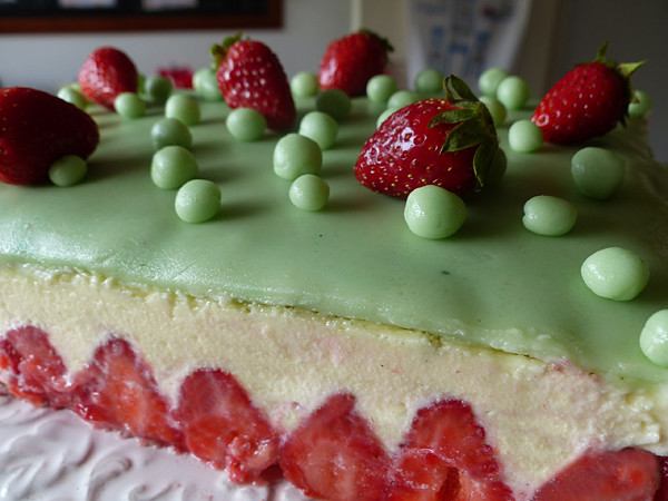le fraisier de la fête des mères