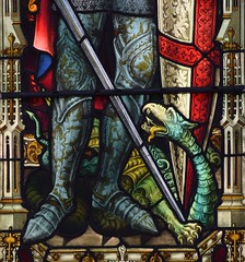 St George's dragon (AL Moore 1880s)