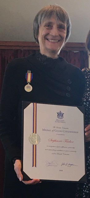 Medal of Good Citizenship recipient - Stephanie Fisher