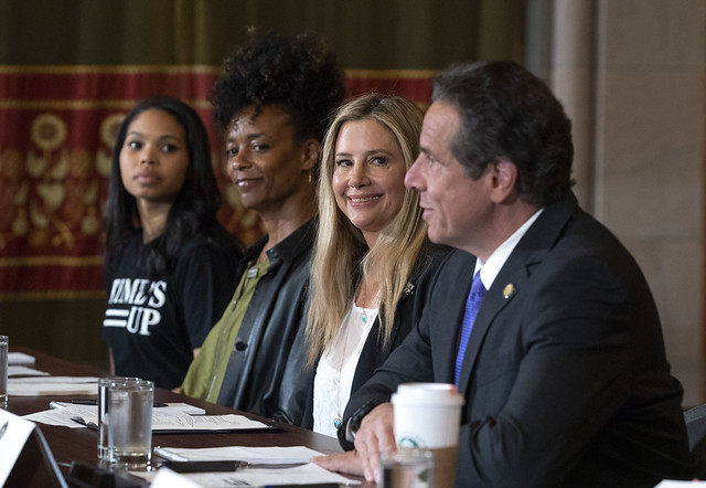 Governor Cuomo and TIME'S UP Push Legislature to Repeal Rape Statute of Limitations in the Second and Third Degrees and Enact Additional Sexual Harassment Protections Before the End of Session