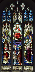 Christ in Majesty with saints and martyrs (AL Moore)