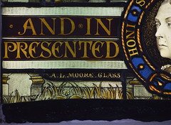 A. L. Moore glass