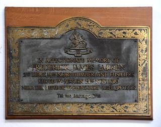 killed in action near the Butte de Warlencourt