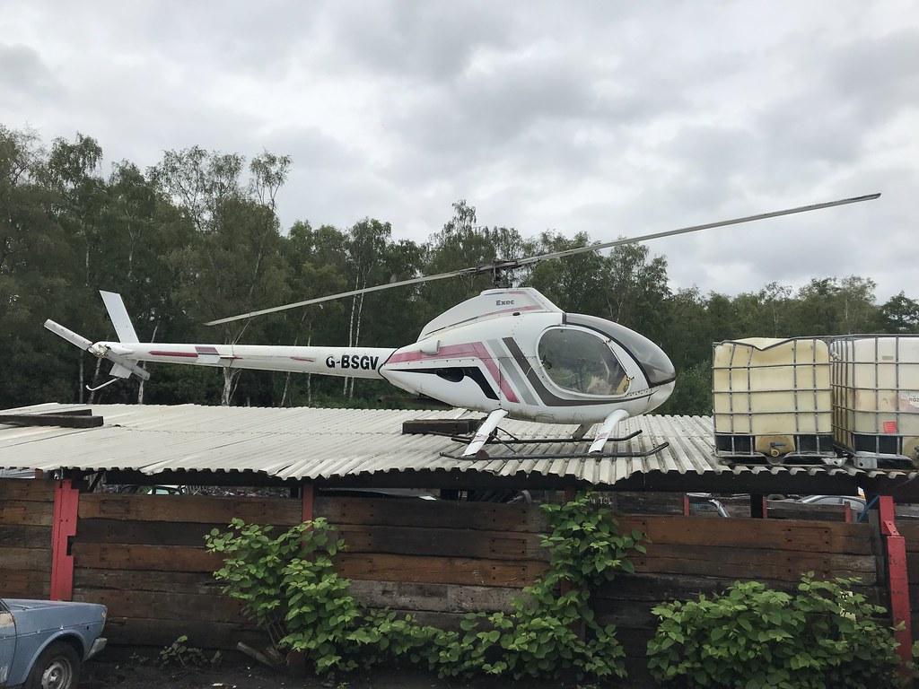 G-BSGV, Rotorway Exec (3823), Wokingham 12th June 2019