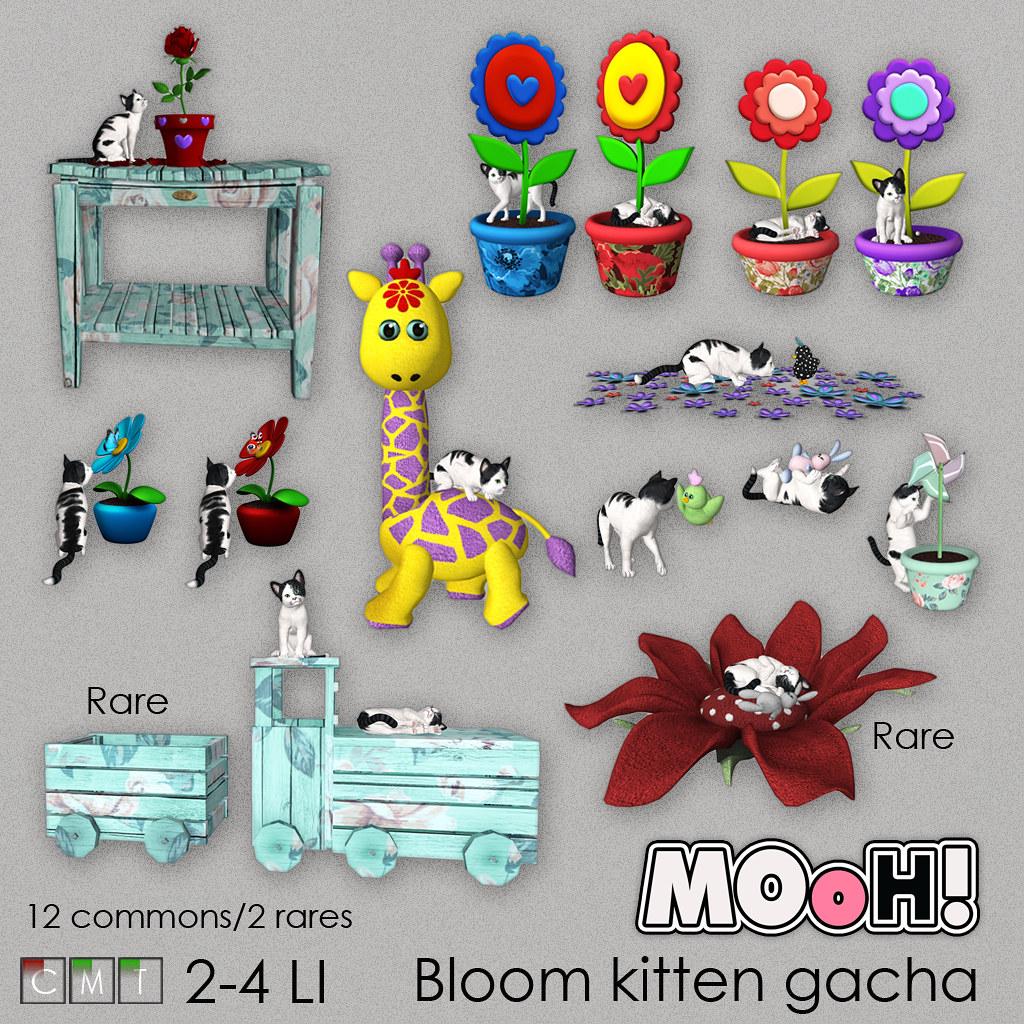 MOoH! Bloom kitten gacha