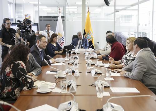 SESIÓN DE LA COMISIÓN DE RELACIONES INTERNACIONALES, QUITO 12 DE JUNIO DEL 2019
