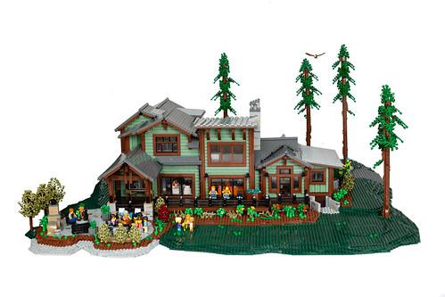 Montana Dream Home - Back Deck