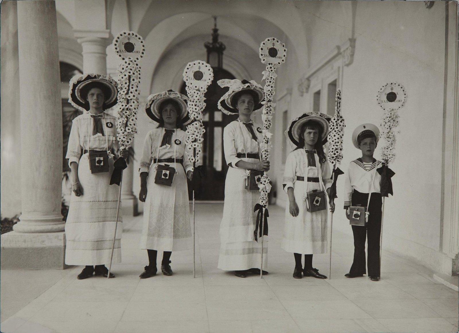 1913. Праздник Белого цветка в Ливадии