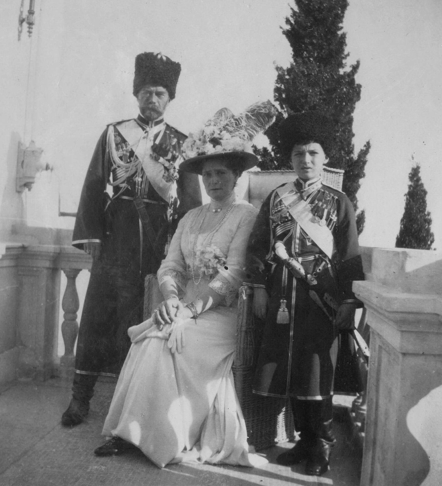 1913. Ливадия.  14 июля