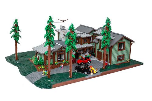 Montana Dream Home - Front