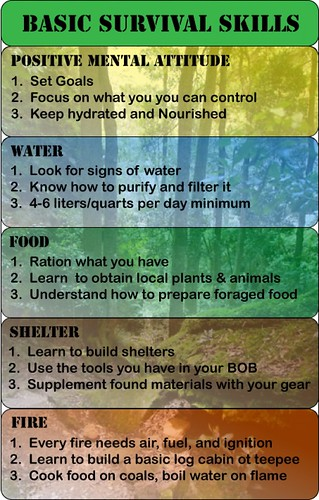 Basic Skills That You Need To Know For Survival | by forest149