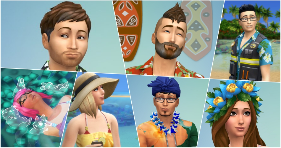 Photo of The Sims 4 Ilhas Tropicais: Avatares dos Produtores no Twitter