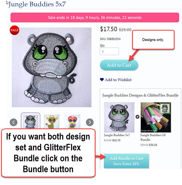 Designs and GlitterFlex Bundle