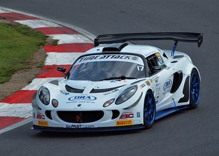 Lotus Exige at The Time Attack Championship Brands Hatch