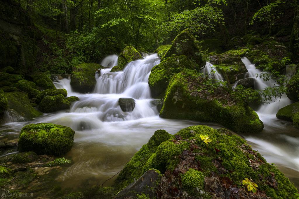 The waterfall - Twannbachschlucht