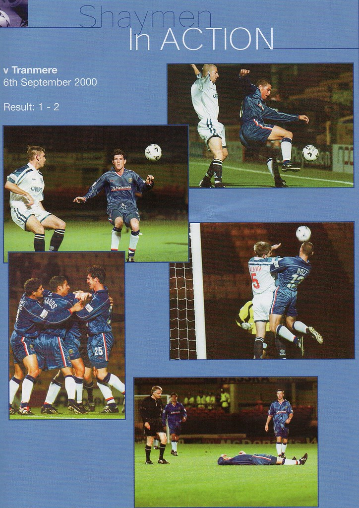 16-09-2000 Halifax Town 0-1 Southend United 13