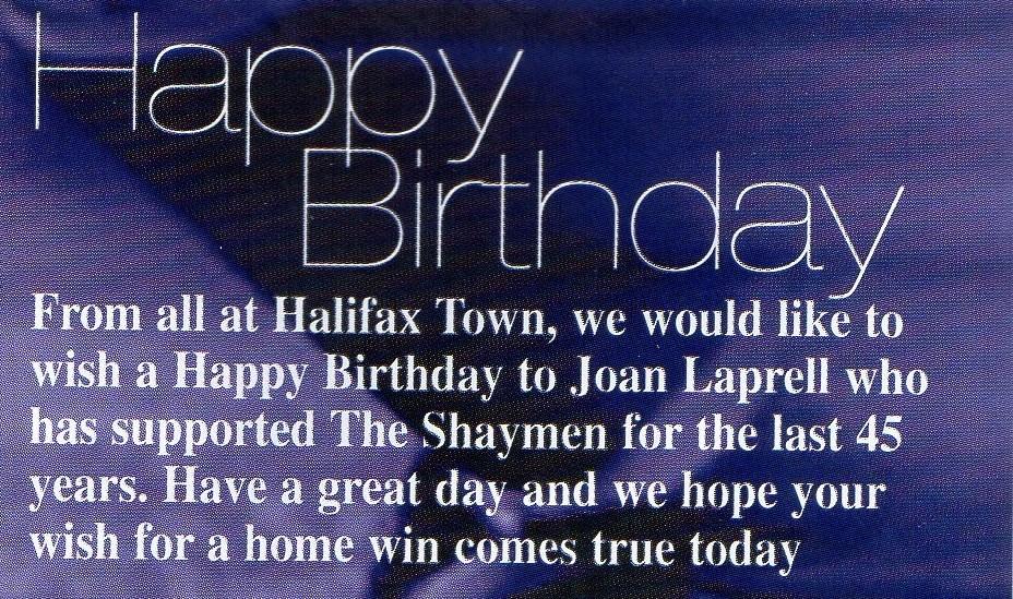 30-09-2000 Halifax Town 0-0 Shrewsbury Town 17